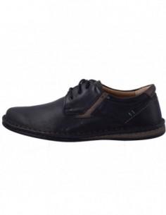 Pantofi barbati, piele naturala, marca Krisbut, Cod PBK 4890P-1-9-1, culoare negru
