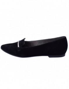 Pantofi dama, piele naturala, marca s.oliver, Cod 5-24201-20-1, culoare negru