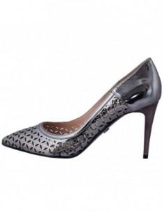 Pantofi dama, piele naturala, marca Conhpol, Cod PFCB-5958SSS-17-40, culoare bronz