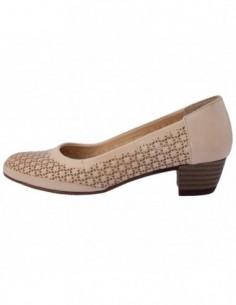 Pantofi dama, piele naturala, marca Formenterra, Cod A23K3425-03-29, culoare bej