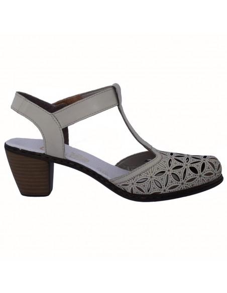 Pantofi Conhpol din piele naturala lacuita 4307