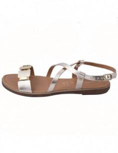 Sandale dama, piele naturala, marca Marco Tozzi, Cod 2-28410-20-12-08, culoare auriu