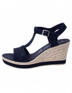 Sandale dama, piele naturala, marca Marco Tozzi, Cod 2-28340-20-42-08, culoare bleumarin