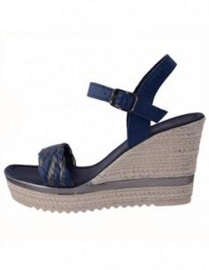 Sandale dama, piele naturala, marca Marco Tozzi, Cod 2-28346-20-42-08, culoare bleumarin