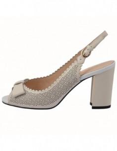 Sandale dama, piele naturala, marca Epica, Cod HM2F3150-1101-52-92, culoare crem