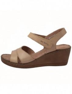 Sandale dama, piele naturala, marca Carla Sellini, Cod 9132820-03-120, culoare bej