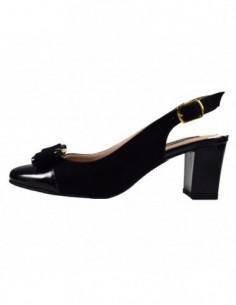 Pantofi dama, piele naturala, marca Botta, Cod 339-1-01-05, culoare negru