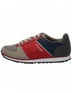 Adidasi barbati, textil, marca Big Star, Cod AA174102-E7-133, culoare combinatie de culori