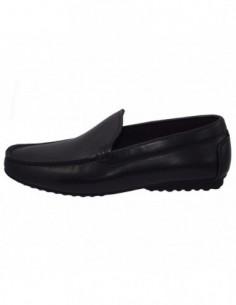 Pantofi barbati, piele naturala, marca Eldemas, Cod 1730-01-24, culoare negru