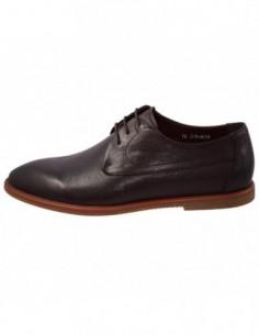 Pantofi barbati, piele naturala, marca Eldemas, Cod N136-8-2-02-24, culoare maro