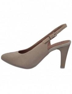 Pantofi decupati dama, piele naturala, marca Pitillos, Cod 5084-12-132, culoare auriu