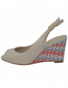 Sandale dama, piele naturala, marca Epica, Cod OE5554-52-92, culoare crem
