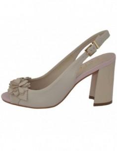 Sandale dama, piele naturala, marca Epica, Cod OE8256-52-92, culoare crem
