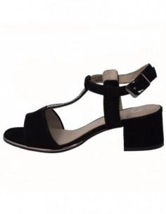 Sandale dama, piele naturala, marca Jana , Cod 8-28241-20-01-09, culoare negru