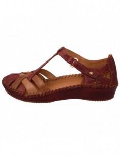 Sandale dama, piele naturala, marca Pikolinos, Cod 655-0732C5-05-21, culoare rosu