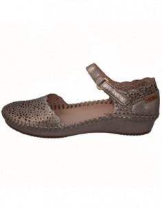 Sandale dama, piele naturala, marca Pikolinos, Cod 655-1572CL-12-21, culoare auriu