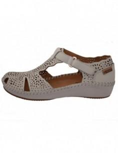 Sandale dama, piele naturala, marca Pikolinos, Cod 655-1574-52-21, culoare crem