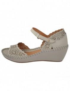Sandale dama, piele naturala, marca Pikolinos, Cod 943-0986-52-21, culoare crem