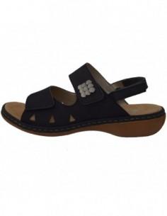 Sandale dama, piele naturala, marca Rieker, Cod 65992-14-42-22, culoare bleumarin