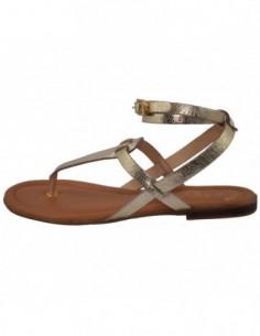 Sandale dama, piele naturala, marca S.Oliver, Cod 5-28103-20-12-15, culoare auriu