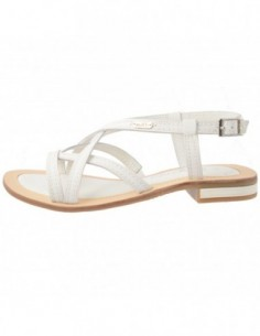 Sandale dama, piele naturala, marca s.Oliver, Cod 5-28120-20-13-15, culoare alb