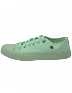 Tenisi dama, textil, marca Big Star, Cod AA274030-B1-133, culoare verde deschis