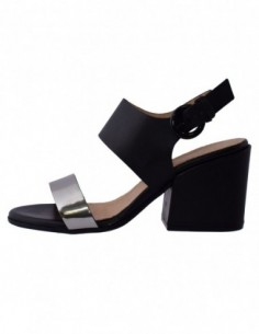Sandale dama, piele naturala, marca Carmens, Cod 39008-01-35, culoare negru