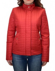 Geaca dama, poliamida, marca Geox, Cod W8220T-F7162-05, culoare rosu