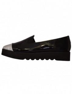 Pantofi dama, din piele naturala, marca Kristin Style, 401-01-83, negru