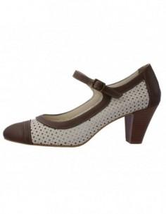 Pantofi dama, din piele naturala, marca Love Craft, 4013-03-72, bej