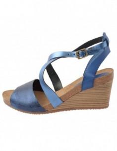 Sandale dama, piele naturala, marca KicKers, Cod 419302-42-134, culoare bleumarin