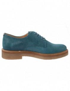 Pantofi Caprice piele întoarsă coniac 22405