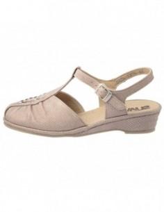 Sandale dama, piele naturala, marca Suave, Cod SU-0042T-18-03-31, culoare bej