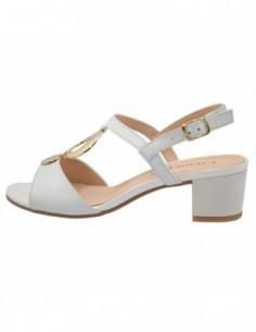 Sandale dama, piele naturala, marca Caprice, Cod 9-28210-20-13-03, culoare alb