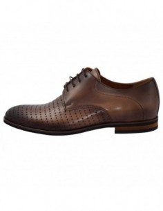 Pantofi barbati, piele naturala, marca Conhpol, Cod 6660-808A-02-40, culoare maro