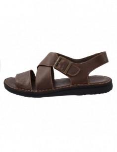 Sandale barbati, piele naturala, marca Walk, Cod 2307-36040-02-38, culoare maro