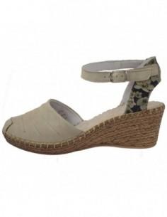 Sandale dama, piele naturala, marca Walk, Cod 8103-52-38, culoare crem