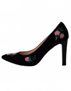 Pantofi dama, piele naturala, marca Botta, Cod 428-01-M8-05, culoare negru
