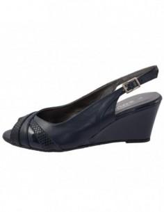 Sandale dama, piele naturala, marca Zodiaco, Cod RBA059-42-77, culoare bleumarin