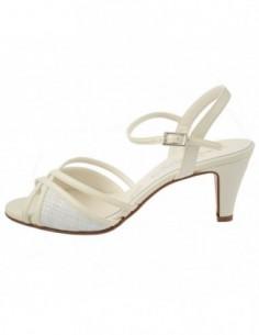 Sandale dama, piele naturala, marca Zodiaco, Cod RBF123-13-77, culoare alb