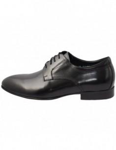 Pantofi barbati, piele naturala, marca Alberto Clarini, Cod C226-01A-01-113, culoare negru