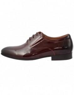 Pantofi barbati, piele naturala, marca Alberto Clarini, Cod C241-01B-23-113, culoare visiniu