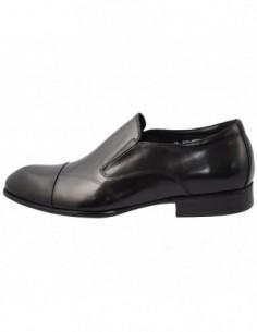 Pantofi barbati, piele naturala, marca Alberto Clarini, Cod C239-01A-01-113, culoare negru