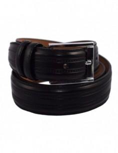 Curea barbati, piele naturala, marca Bond, Cod 1115-1, culoare negru
