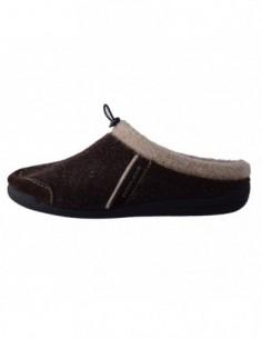 Papuci de casa barbati, textil, marca sOliver, Cod 17300-02-15, culoare maro