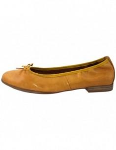 Balerini dama, piele naturala, marca Tamaris, Cod 22116-08-10, culoare galben