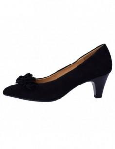 Pantofi dama, piele naturala, marca Caprice, Cod 22401-1, culoare negru