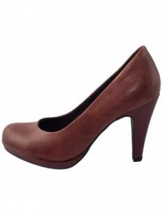 Pantofi dama, din piele naturala, marca Marco Tozzi, 22424-30-08, visiniu