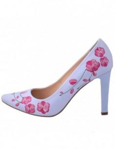 Pantofi dama, piele naturala, marca Botta, Cod 428-M6-05, culoare bleu
