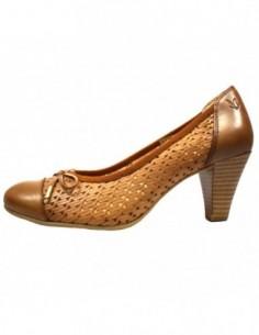 Pantofi dama, piele naturala, marca Caprice, Cod 22504-4, culoare camel